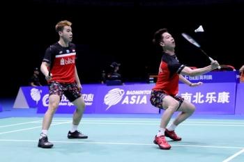 Indonesia Tinggal Menyisakan Marcus/Kevin di Badminton Asia