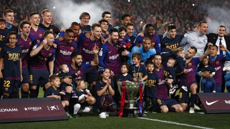 Barcelona, Ole Ole, Barcelona Juara Laliga!