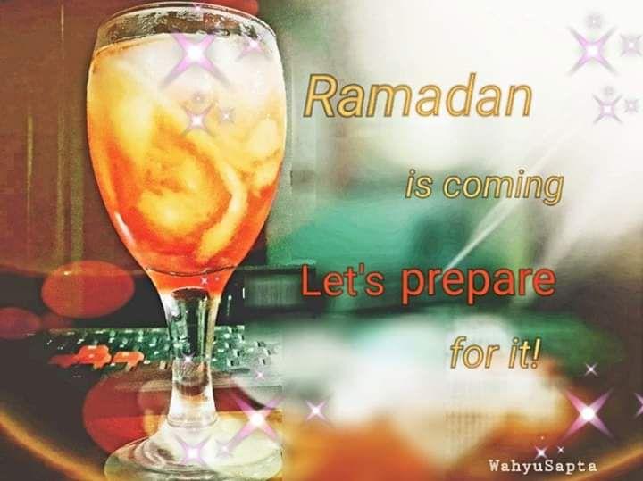 Kesibukan Bunda Menjelang Ramadan