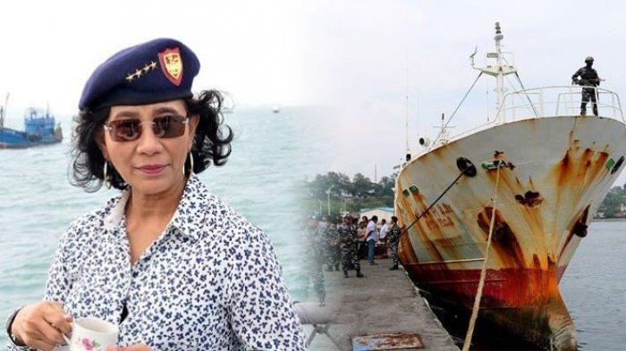 Mencuri Ikan di ZEE Indonesia, Ibu Susi Akan Tenggelamkan 51 Kapal Vietnam