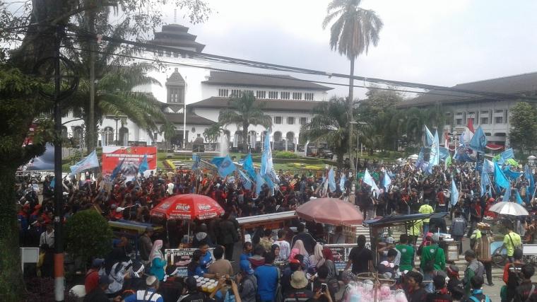Isu-isu Penting dari Perayaan May Day 2019 di Bandung