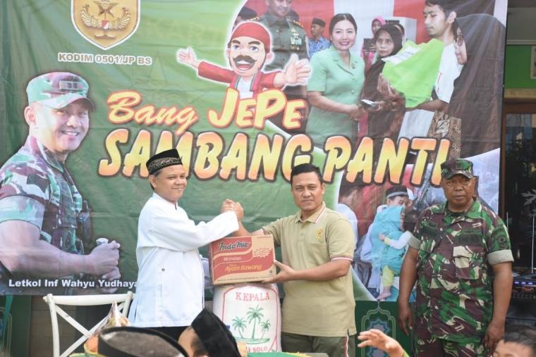 Ini yang Dilakukan Bang JEPE Sambang Panti Saat Kunjungi Asrama Yatim & Dhuafa di Petojo Selatan