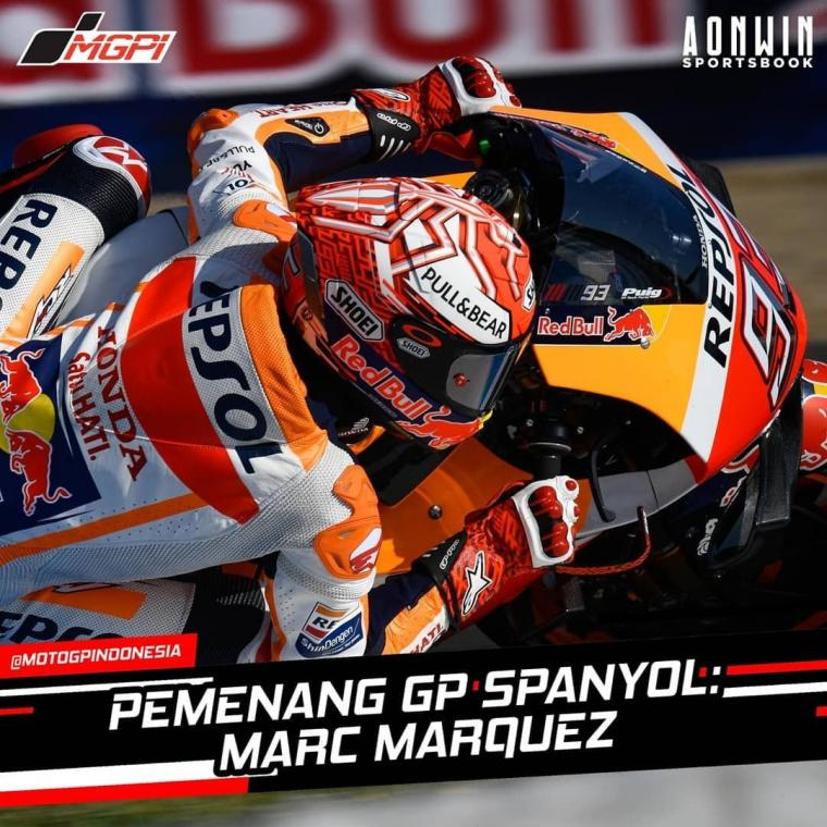 Klasemen Sementara MotoGP 2019, Marc Marquez Memimpin