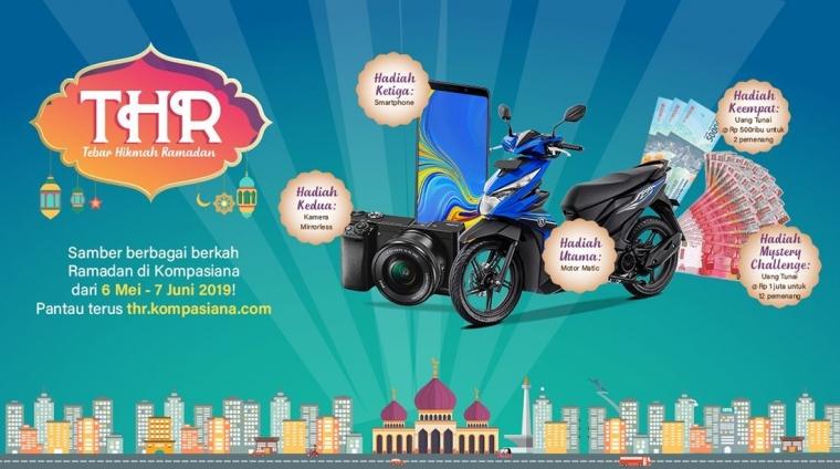 Nulis Sepanjang Ramadan dan Samber Sepeda Motornya!