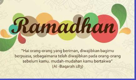 Bab Puasa di Bulan Ramadhan