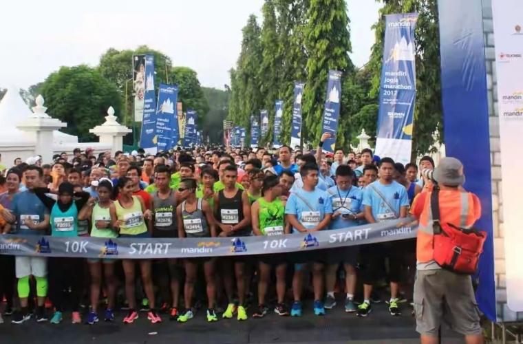 Ini Marathon Apa Liburan? Keunikan Jalur dalam Mandiri Jogja Marathon 2019