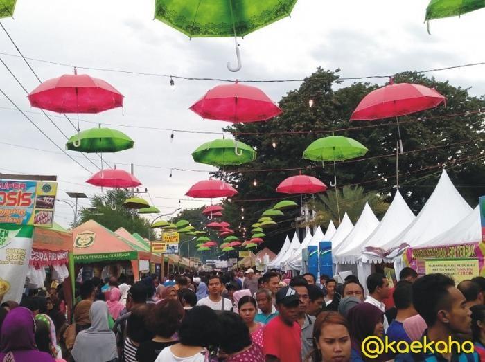 Perjalanan Panjang Pasar Wadai Mewarnai Ramadan di Kota Banjarmasin