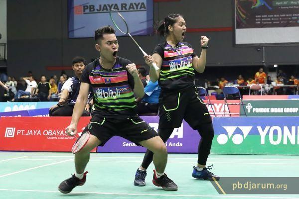 Tim Junior Indonesia Raih Dua Gelar di Pembangunan Jaya Raya Junior Grand Prix 2019