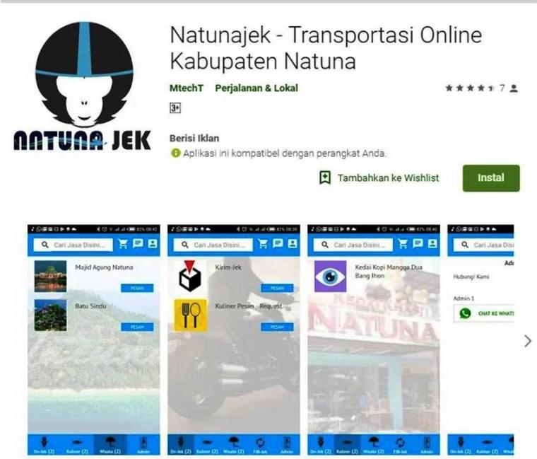 """""""Natunajek"""", Inovasi Masyarakat Natuna"""