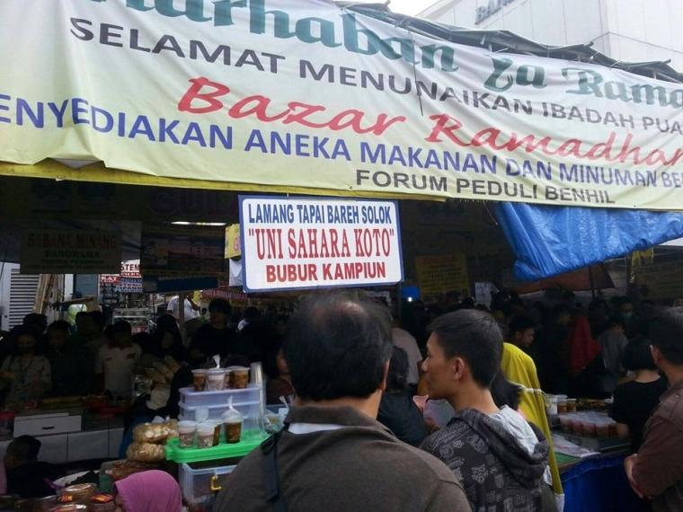 Pasar Benhil Tempat Berburu Takjil di Jakarta
