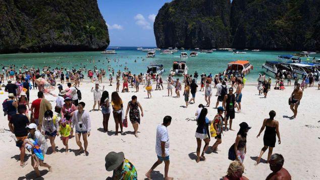 Thailand Tutup Ikon Wisata demi Kelestarian Terumbu Karang