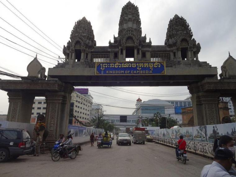 Berkunjung ke Kota Poipet Kamboja