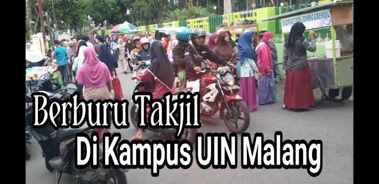 Berburu Takjil Favorit di Pasar Takjil Kampus UIN Malang