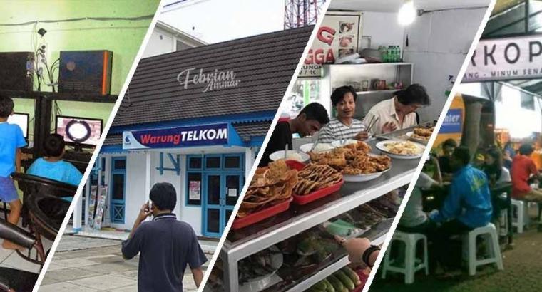 Inilah Kumpulan Singkatan Warung yang Populer di Indonesia!