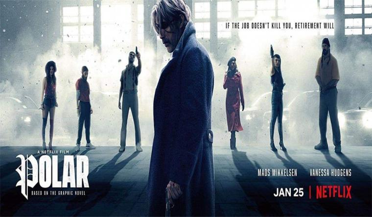 """Film """"Polar"""", Atmosfir Neo-Noir di Hidup Pembunuh Bayaran"""