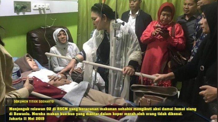Keracunan Usai Makan Kue Saat Demo di Kantor KPU Medan