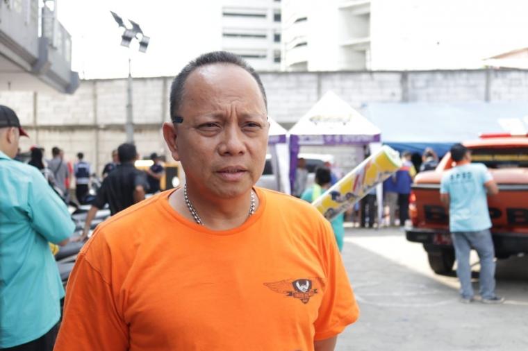Suku Dinas Sosial Jakut Salurkan Bantuan Kepada 3.500 Korban Kebakaran Kampung Bandan