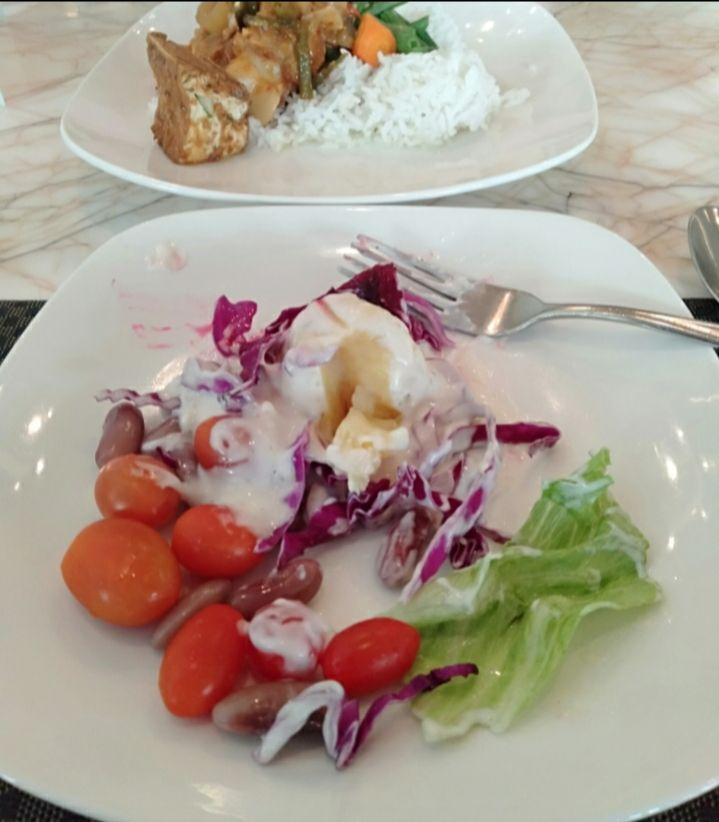 Nasi Sayur dan Ayam Goreng, Sajian Santap Sahur #AntiRibet