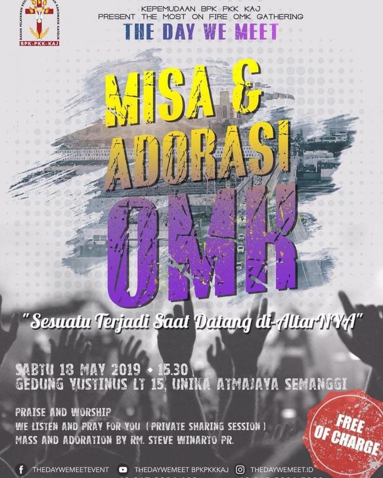 Misa & Adorasi OMK Se-Indonesia