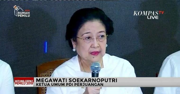 Megawati Persilakan Demokrat Gabung ke Koalisi Jokowi-Ma'ruf Amin
