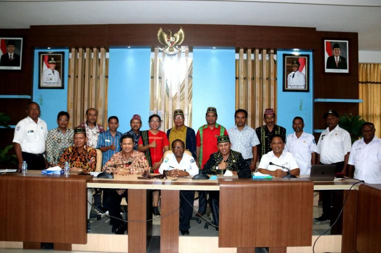 Bupati Dula dan Rombongan Gelar Dialog bersama Jajaran Pemda Raja Ampat