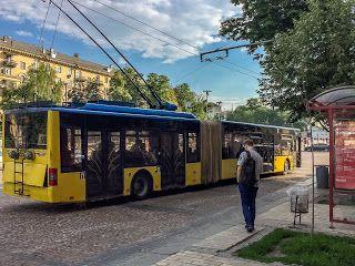 Naik Bus Bersungut Ukraina