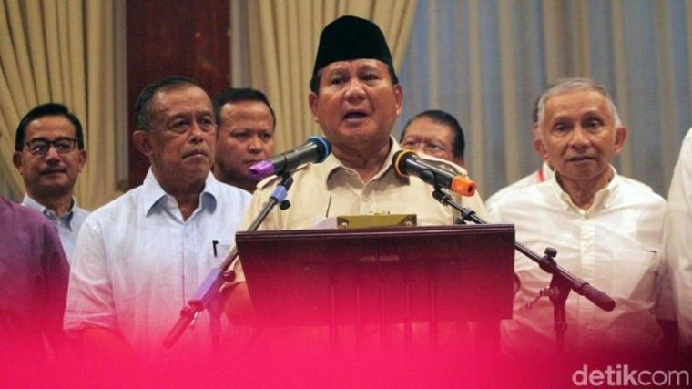 """Di Tengah Menggelegarnya Wacana """"People Power"""", Prabowo akan Menuliskan Surat Wasiat"""