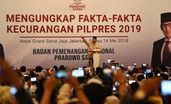 Tolong Tim Data BPN, Jangan Buat Malu Prabowo