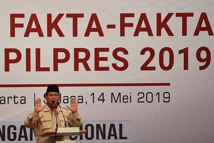 Ini yang Terjadi Usai Prabowo Menolak Hasil Pilpres