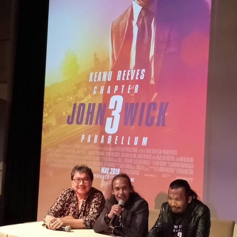 """""""John Wick: Chapter 3 - Parabellum"""", Sekuel Aksi Keanu Reeves dan Hadirnya Dua Aktor Indonesia"""