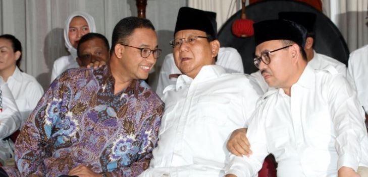 """Tidak Hadir di Bogor, Anies Ingin Tetap Jadi """"Anak Manis"""" bagi Prabowo?"""