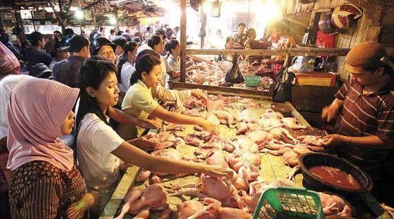 Jelang Idul Fitri, Harga Daging Ayam Melonjak
