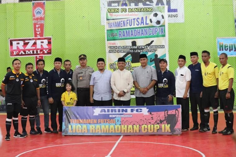 Turnamen Futsal Ramadan, Adytiawan Said: Jaga Silaturahmi dan Sportifitas