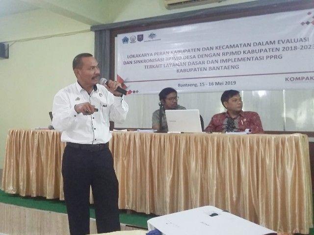 Selama 2 Hari KOMPAK-Pemkab Bantaeng Helat Workshop Layanan Dasar dan PPRG
