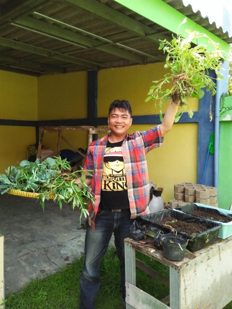 Merasakan Bertani Tanpa Sawah dengan Organic Urban Farming (OUF)