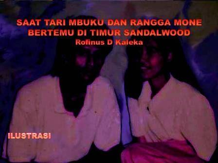 Saat Tari Mbuku dan Rangga Mone Bertemu di Timur Sandalwood