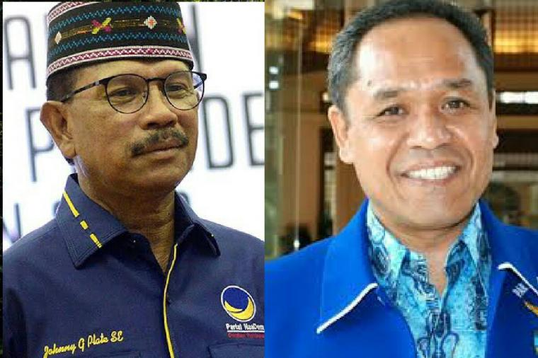 Pileg 2019: Johnny Plate dan Benny Harman, OTW Senayan