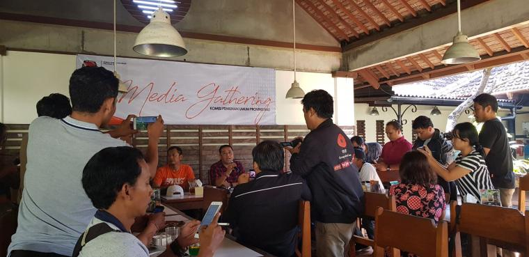 Media Gathering KPU Provinsi Bali