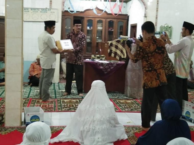 Indahya Berbagi di Bulan Ramadhan (Kemenag pasbar)