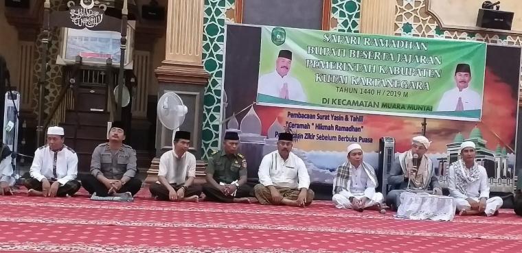 """""""Melalui Safari Ramadhan Kita Pererat Silaturahmi Forkopimda dengan Masyarakat"""""""