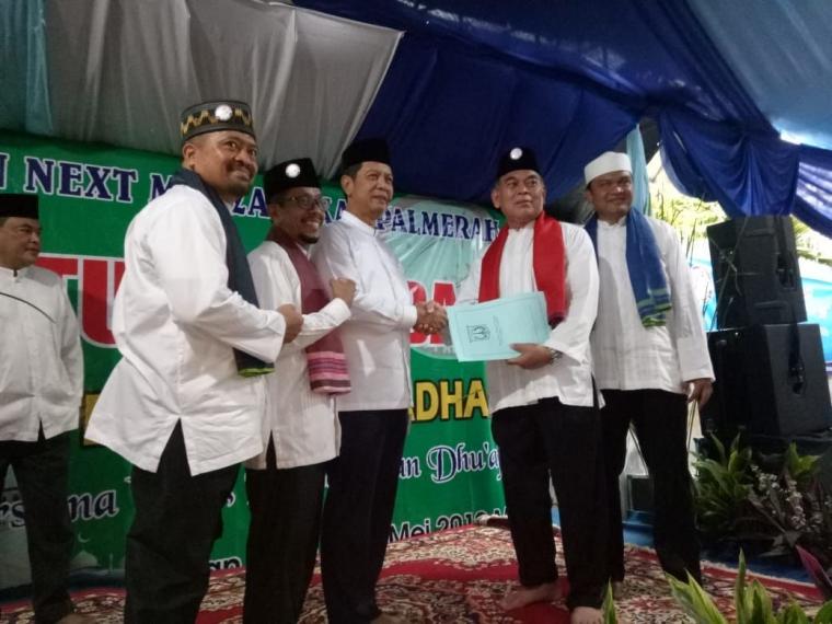 Santunan Akbar, Yayasan Next Masyarakat Palmerah Diresmikan Walikota Jakarta Barat