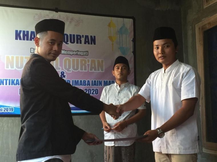 DPD Imaba IAIN Madura Periode 2019-2020 Resmi Dilantik