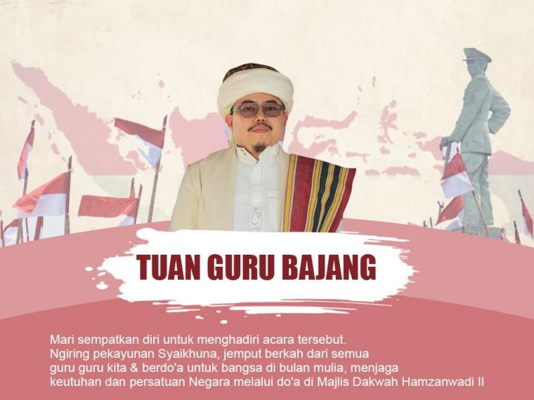 Tuan Guru Bajang Adakan Doa Bersama untuk NKRI