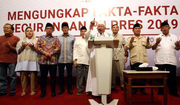 """Ajukan Gugatan, Kubu Prabowo-Sandi Tetap Bawa """"Bendera"""" BPN?"""