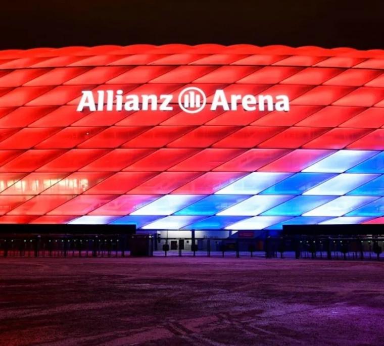 "Markas Bayern Munchen ""Allianz Arena"" Selalu Hadir di Liga Champions"