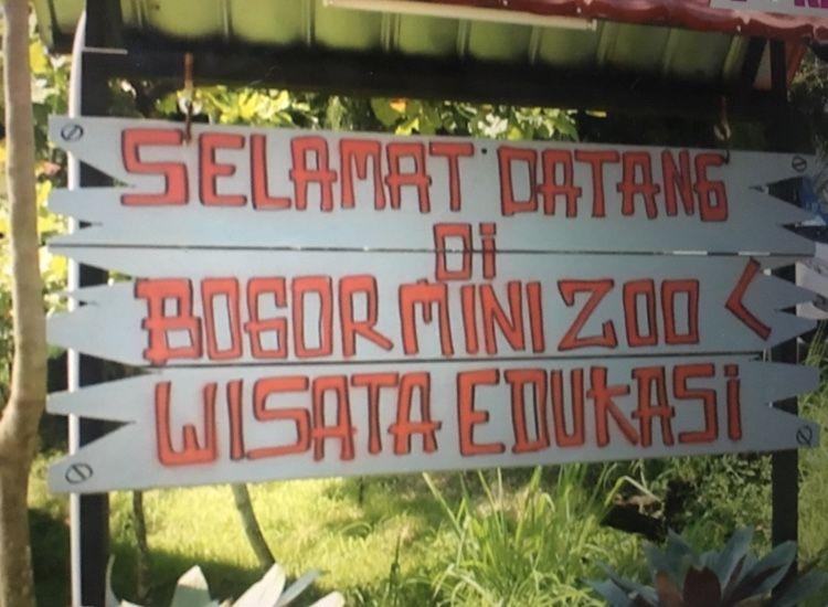 Wisata Edukasi Bogor Minizoo