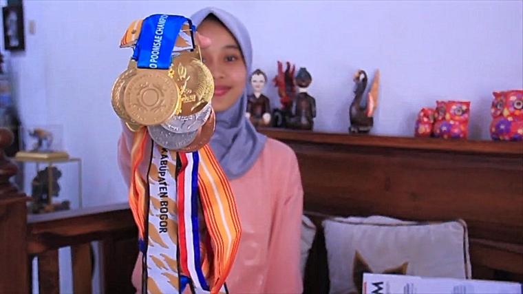 Banggakan Orang Tua, Kevita Deliza Borong Prestasi Taekwondo