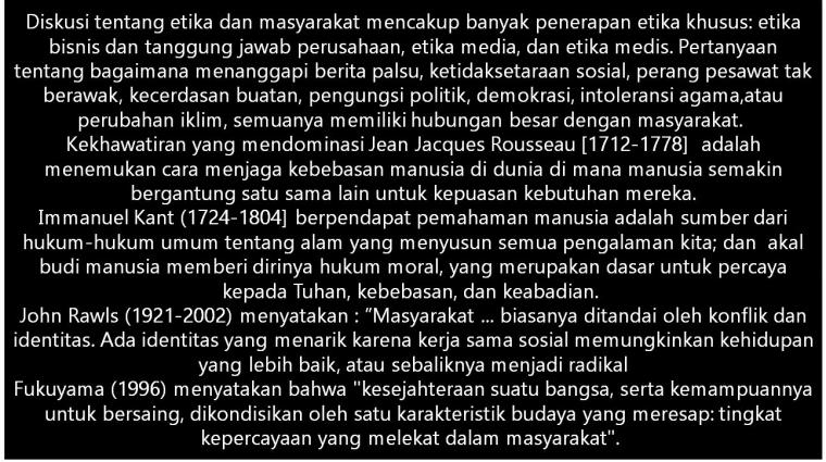 Episteme Etika Masyarakat [2]