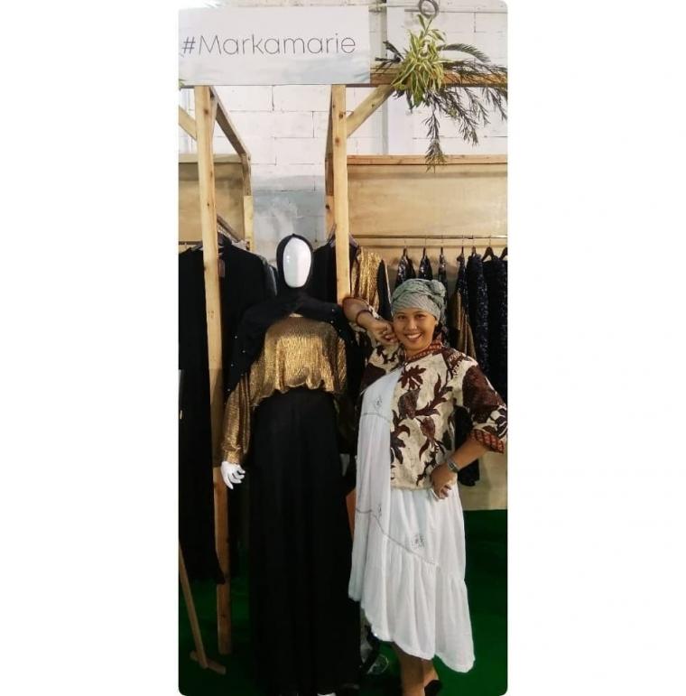 Turban atau Pashmina, OOTD Ngabuburit dan Bukber  Di Mall Atau Masjid  Ala Saya