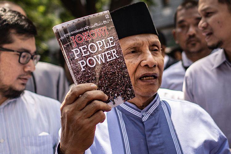 """People Power"" Jokowi Dipakai Amien Rais Mengelabui Polisi"
